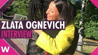 Zlata Ognevich (Ukraine 2013)   Interview @ Big Wedding Concert Kyiv