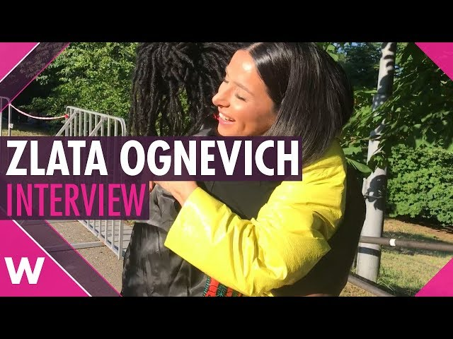Zlata Ognevich (Ukraine 2013) | Interview @ Big Wedding Concert Kyiv