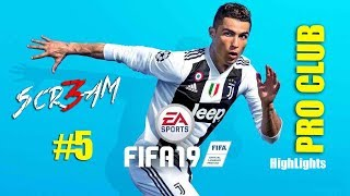 5 Scr3am Twitch Highlights 6 12 2018 Fifa 19 Pro Club PS4 By 3