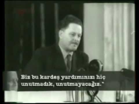 Чествование Назыма Хикмета - Nazim Hikmet'in 50. dogum gunu