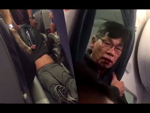 Thumbnail: Video Of A Passenger dragged off overbooked United flight goes viral!