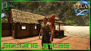 BUILDING A BEACH SHACK AND TAMING A PHOO! Soloing Atlas S1E2