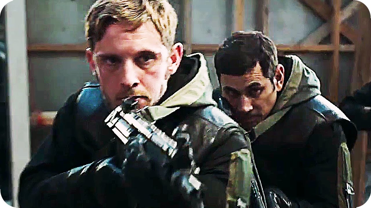 6 DAYS Trailer (2017) Mark Strong Jamie Bell Action Movie