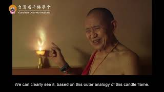 Tantric Buddhist Tummo (inner fire) type meditation explained by Garchen Rinpoche