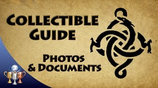 The Order 1886 - All Photographs & Documents Collectible Locations (Detail Oriented Trophy)