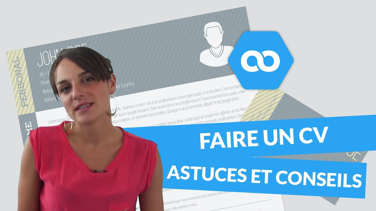 conseils video faire un cv