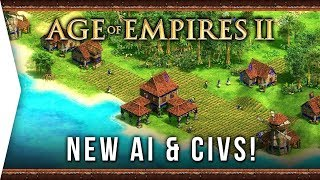 AI & New Civs! ► Age of Empires II: Definitive Edition - The Last Khans - Bot AoE 2 Gameplay