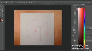Обучение рисунку. Введение. серия 1.01: ошибки в пропорциях
