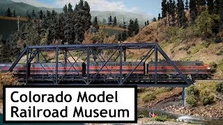 Colorado Model Railroad Museum Sycan Junction to Nasty Flats