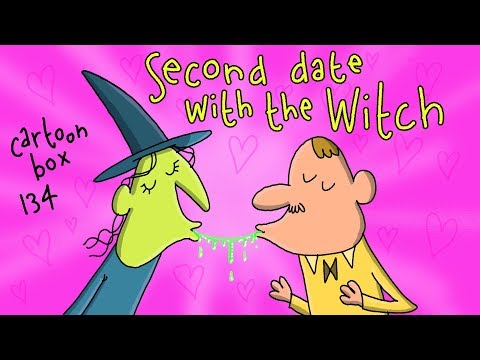 Second Date With The Witch | Cartoon Box 134 | By FRAME ORDER | dark humor cartoons