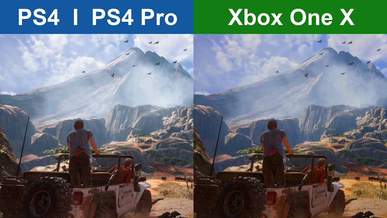 Uncharted 4 - PS4 vs. ...