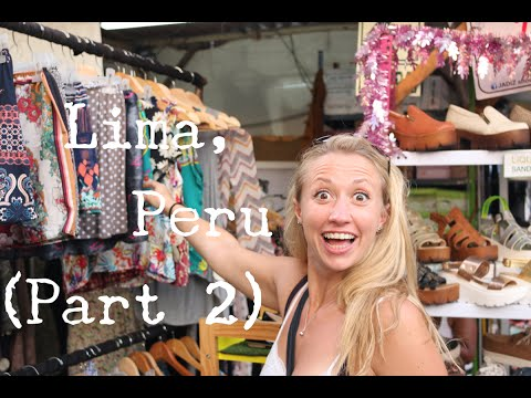 LIMA - PERU - TRAVEL VLOG (Part 2) - The Adventures of Pip & Tobes