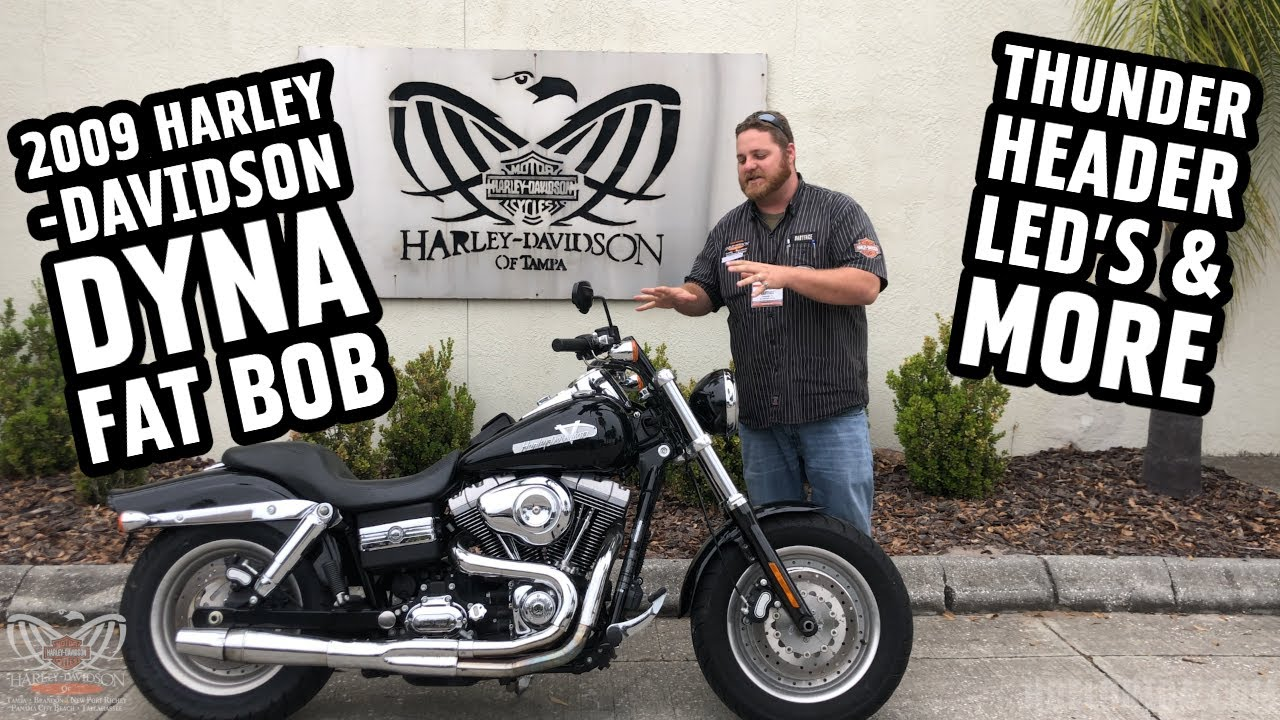 2009 harley davidson dyna fat bob specs thunderheader exhaust