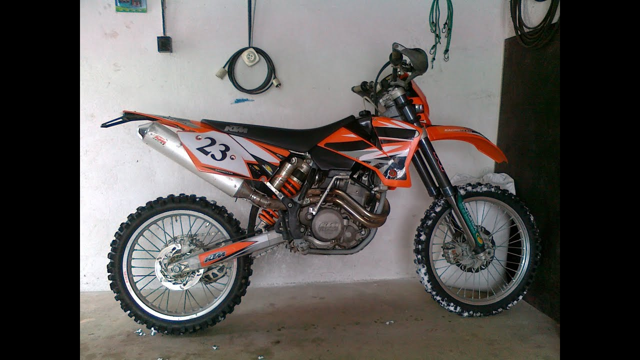 medium resolution of 2002 ktm 520 sx racing cold start exhaust