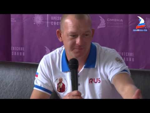 Встреча с двукратным олимпийским чемпионом Д. Саутиным на