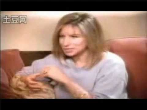 Barbra Streisand crying - Mike Wallace Interview - 1991 - Part 2 of 2