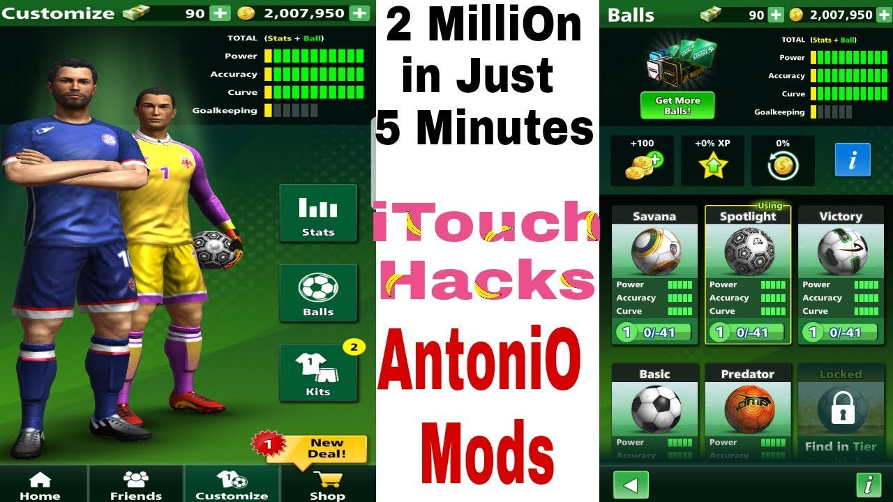 Football Strike Super Vip Mod 2 Million In Just 5 Minutes Link In