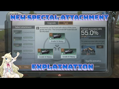 Explaination Special Attachment, Special Set Effect & Accessory Fusion | LIFEAFTER