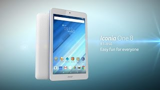 acer   iconia one 8 b1 850 an easy to use tablet for beginners or families with kids