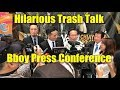 HILARIOUS TRASH TALK BBOY PRESS CONFERENCE (NYC VS DRZ)   THE PLAN e16