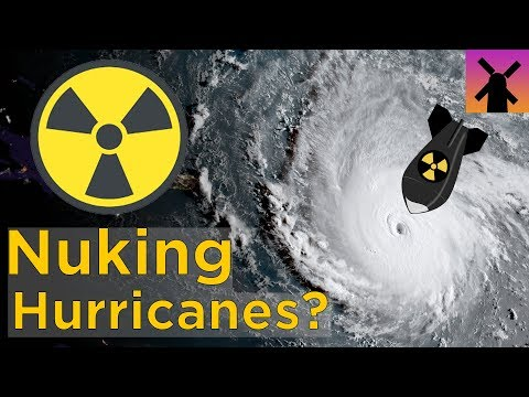 What Happens If You Drop a Nuclear Bomb Into a Hurricane?
