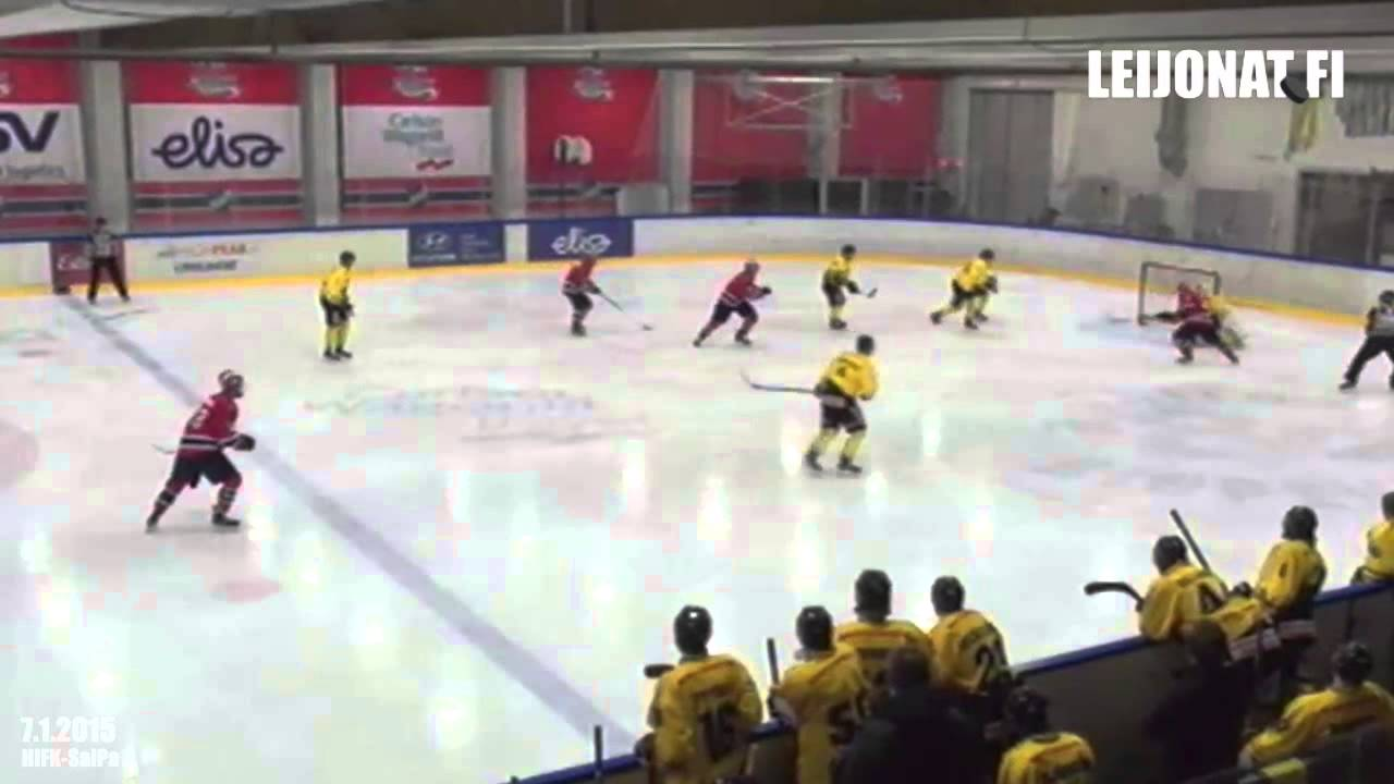Nuorten SM-liiga maalikooste // HIFK-SaiPa 8.1.2015 - YouTube