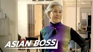 Meet a 77-Year-Old Grandma Model In Korea   ASIAN BOSS