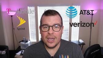 Best LTE High Speed International Data Plan 2019   T-Mobile vs Verizon vs AT&T vs Sprint