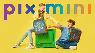 Pix Mini: First Smart Animated Backpack for Kids