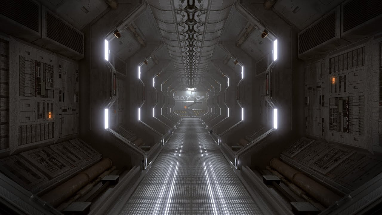 Blender Tutorial Create A Spaceship Corridor In Blender