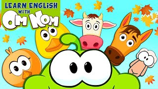 Om Nom Farm Animals Finger Family