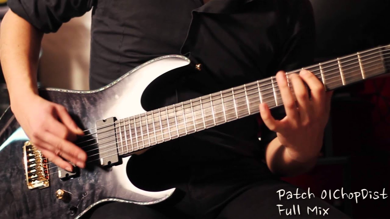 line6 patches collection pod hd 400 full mix ibanez iron label
