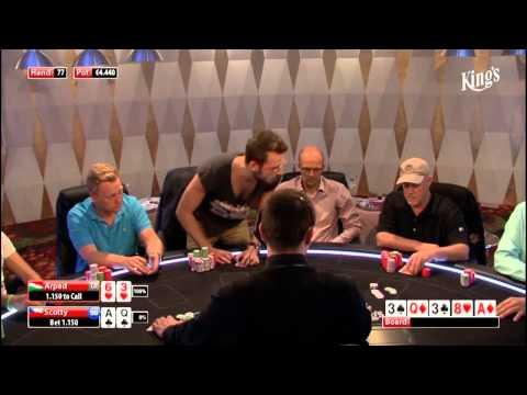 CASH KINGS E15 2/2 - DE - NLH 10/25 ante 5 - Jens Knossalla - Live cash game poker show