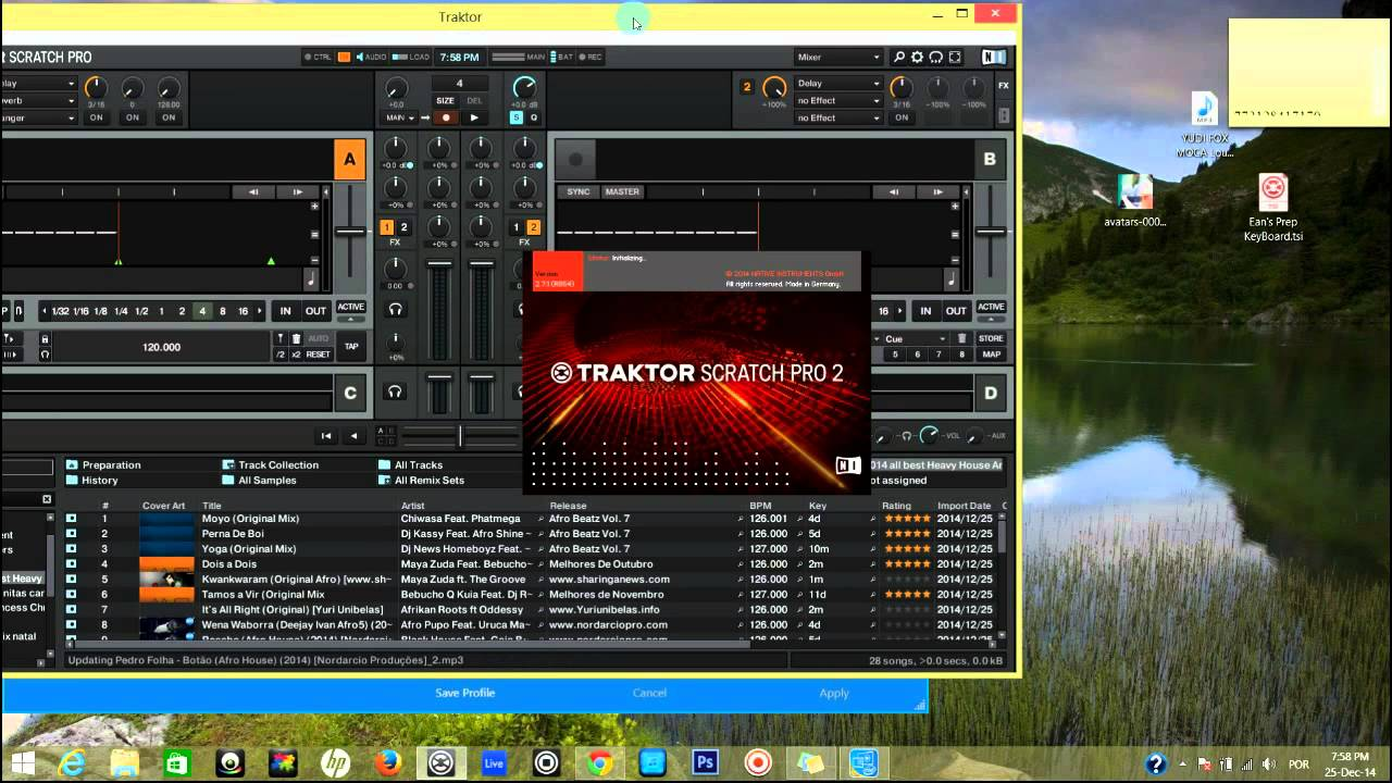 How to fix resolution in Traktor Dj Pro 2 7 1 Windows 8 1 Full HD