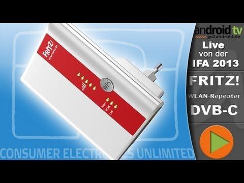 [GER] FRITZ!WLAN-Repeater DVB-C - IFA 2013