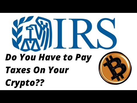Do You Need To Pay Taxes On Cryptocurrency?