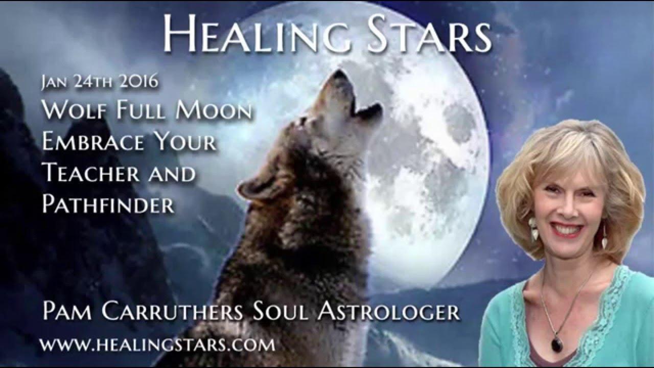 Wolf Full Moon in Leo - Healing Stars