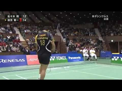 Badminton Men's Singles Quarterfinals - Korea v China Full Replay -- London 2012 Olympic Games from YouTube · Duration:  1 hour 9 minutes 24 seconds