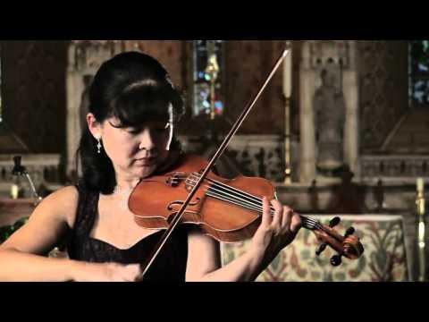 Bach Sonata No.1 for solo violin (4th movement - Presto) - Miho Hakamata