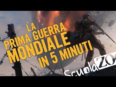 Nocciolina #7   La Prima Guerra Mondiale in 5 MINUTI #ScuolaZoo