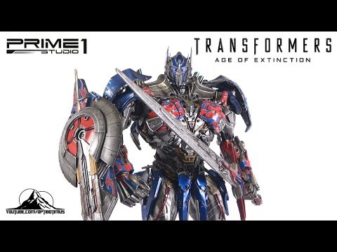 Optibotimus Reviews: Prime 1 Studio Transformers Age of Extinction OPTIMUS PRIME Ultimate Edition