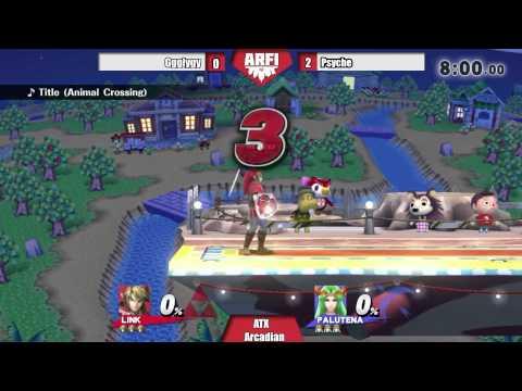 Palutena(psyche) vs Link(gglygy) Arcadian Tournament