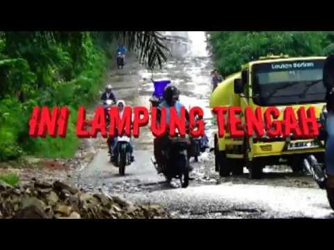 jalan rusak kecamatan kalirejo lampung tengah