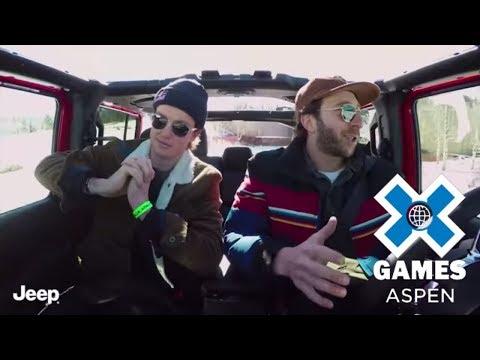 Scotty James: Athletes in Wranglers   X Games Aspen 2018