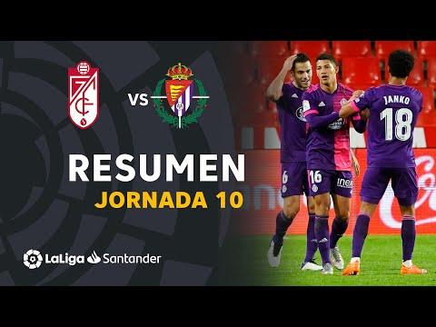 Granada Valladolid Goals And Highlights