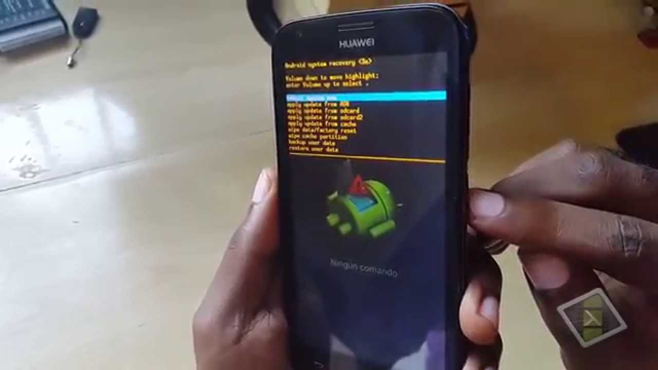 Huawei Android Phone Stuck on startup or not accepting correct