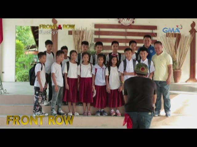 Front Row: Pitong kambal sa Pangasinan, pumapasok sa iisang klase