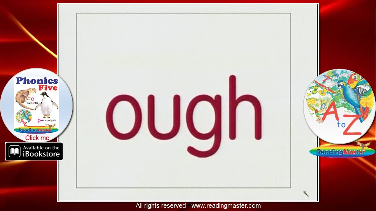 worksheet Phonics Ough Worksheets ough has six sounds in english youtube youtube