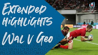 Extended Highlights: Wales 43-14 Georgia - Rugby World Cup 2019
