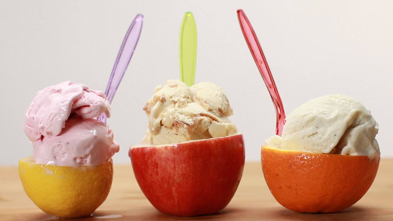 Ice Cream Fruit Bowls - YouTube